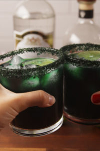 Black magic margartias for Halloween