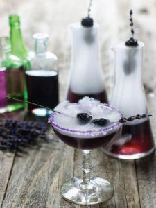 Vodka Halloween cocktail
